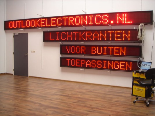 lichtkranten loopbalk