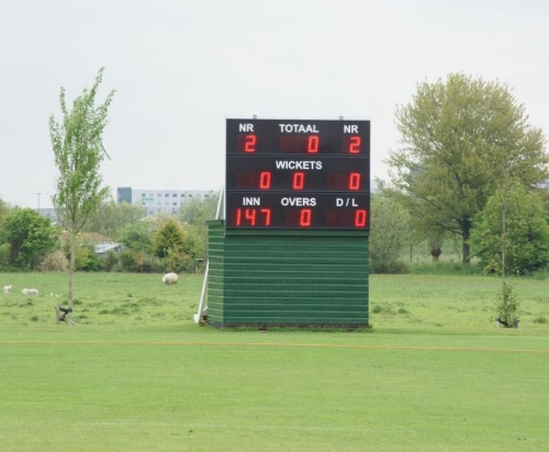 cricket scorebord