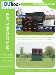 Brochure Scorebord Cricket